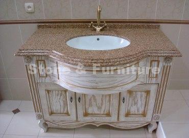 кварцевая столешница для ванной