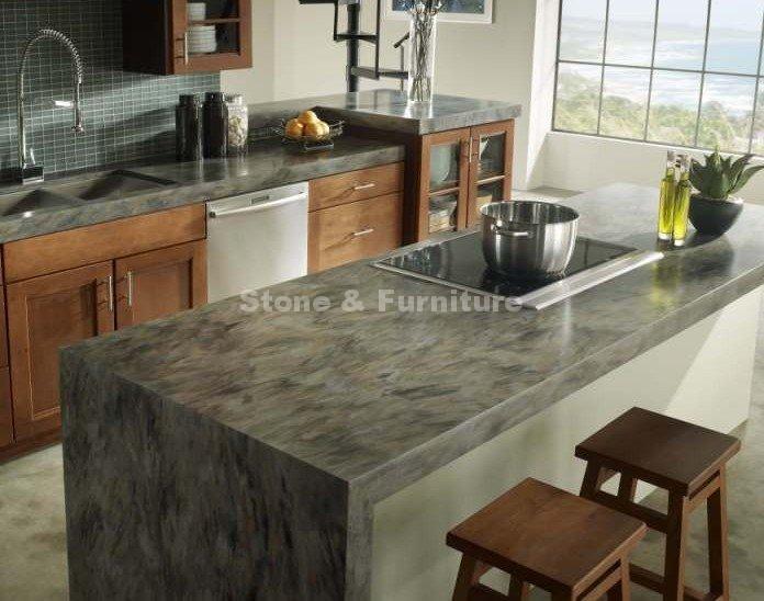 Кухня стол из искусственного камня