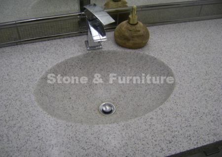 Раковина для ванной из камня