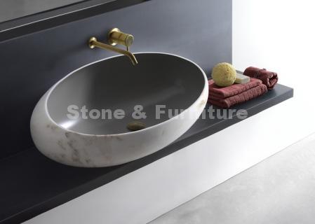 Раковина из искусственного камня для ванны