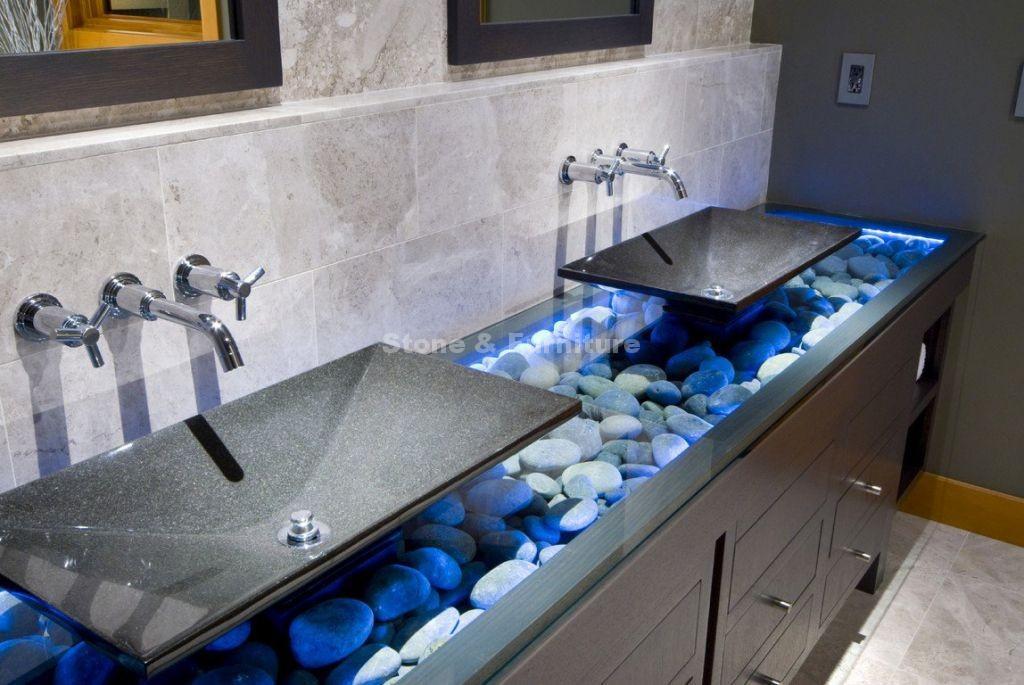 Раковины из искусственного камня для гостиницы