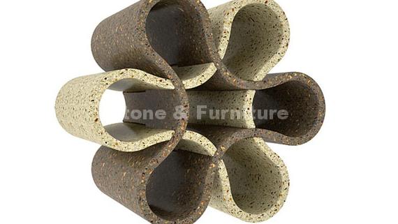 Заказать бутылочницу из искусственного камня - модный аксессуар на кухне