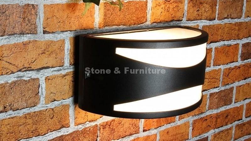Преимущества светильников из искусственного камня
